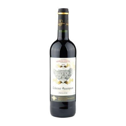 法国爱莎赤霞珠红葡萄酒