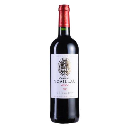 法国梅多克中级庄 诺雅克庄园2008干红葡萄酒750ml