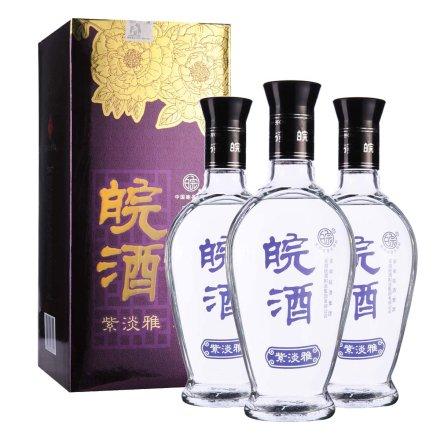 42°皖酒紫淡雅500ml(3瓶装)
