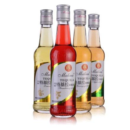 玛丽特基拉四瓶装(柠檬+草莓+苹果+青梅275ml)