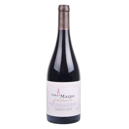 智利迈坡精品奉献系列西拉小西拉干红葡萄酒750ml