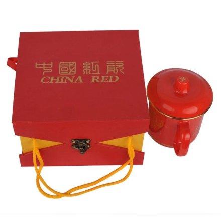 红瓷诗词将军杯