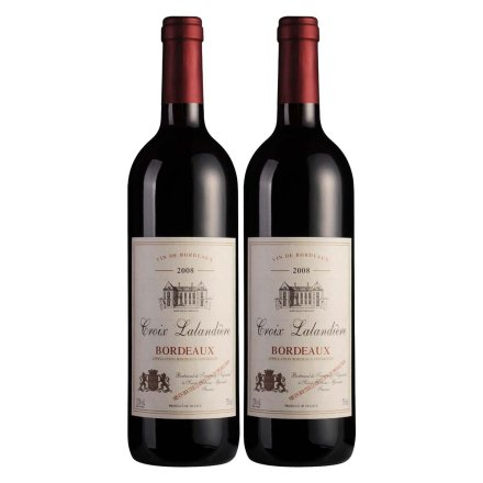 法国波尔多珍藏干红葡萄酒750ml(双瓶装)