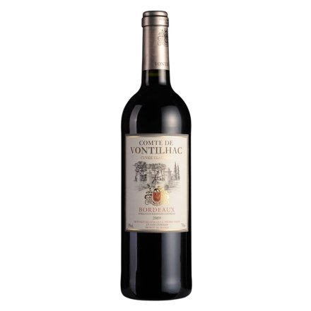 法国梵蒂雅波尔多红葡萄酒