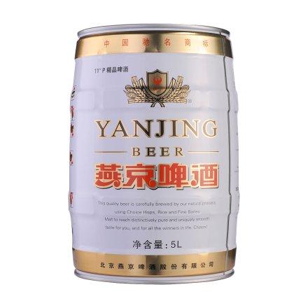 燕京精品啤酒5L