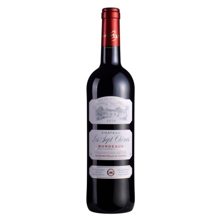 法国杉纳城堡干红葡萄酒