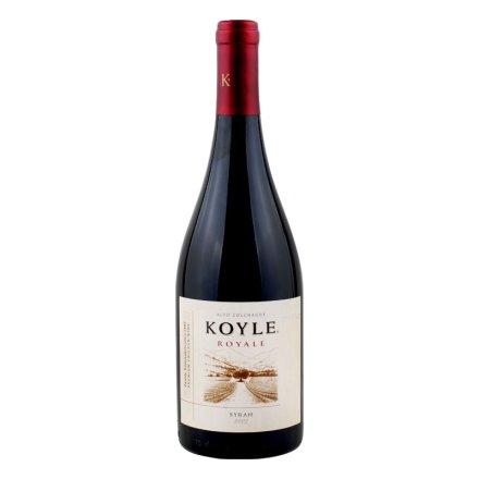 智利柯莱皇室西拉干红葡萄酒