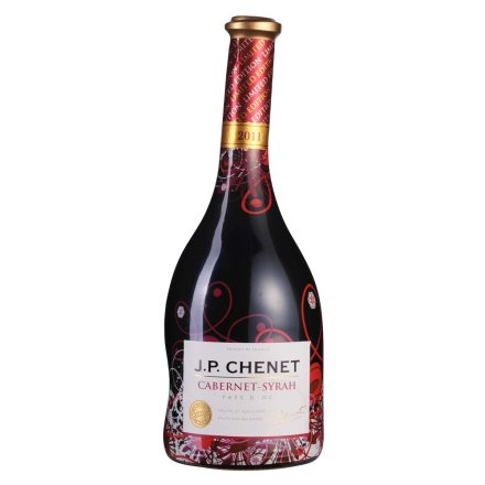 法国香奈赤霞珠-西拉干红葡萄酒(炫彩装)
