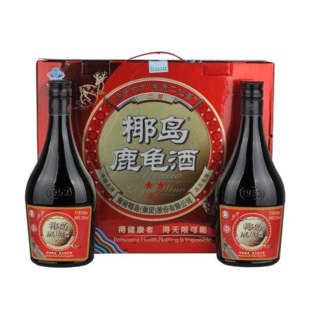 (清仓)33°二星椰岛鹿龟酒礼盒