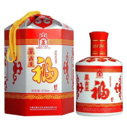 38°蒙古王红包福酒475ml