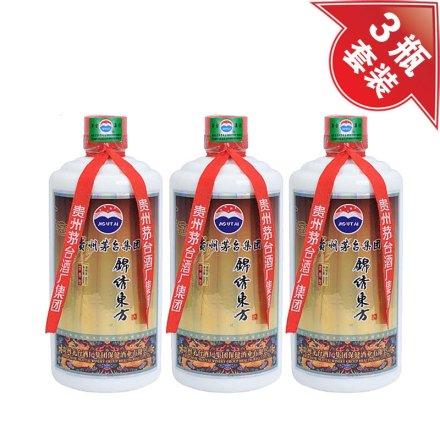 (清仓)52°锦绣东方酒500ml(3瓶装)