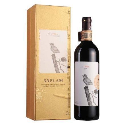 法国西夫拉姆特级干红葡萄酒(金装)750ml