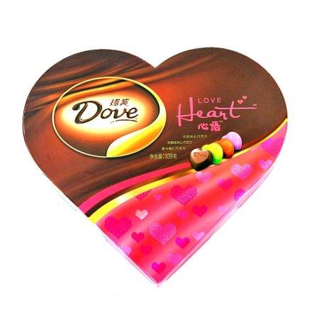 德芙巧克力心心相印礼盒