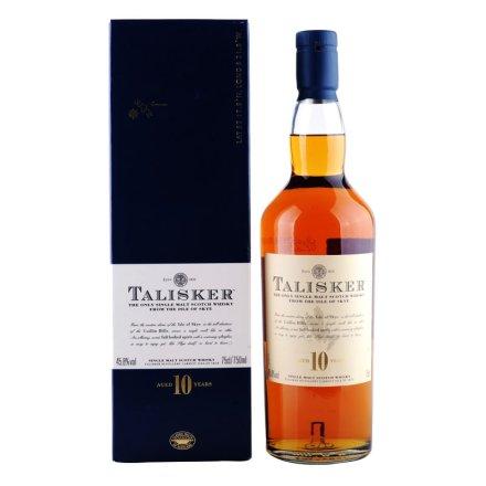 45.8°英国泰斯卡10年陈酿单一麦芽苏格兰威士忌750ml