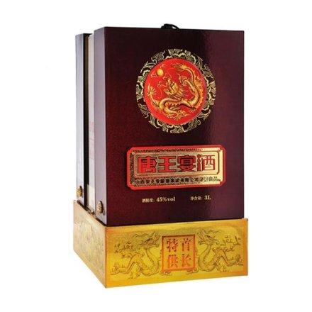 45°首长特供唐王宴酒3000ml