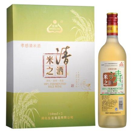 6-13°孝感米之清酒双瓶礼盒750ml*2
