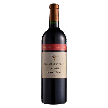 【清仓】13°法国伯特庄园奥隆1968红葡萄酒750ml