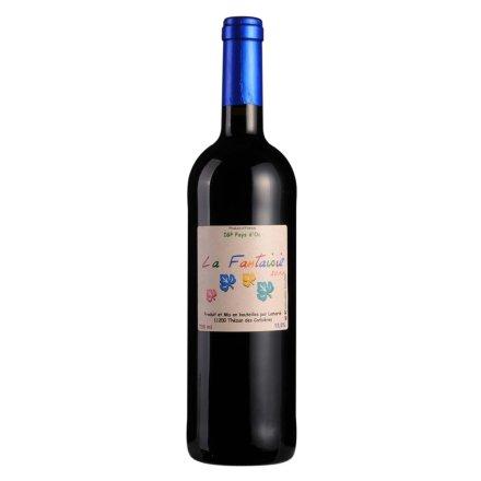 法国幻想曲枫叶干红葡萄酒