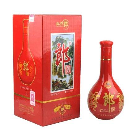 39°十年红花郎酒500ml
