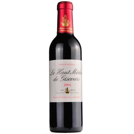 法国美人鱼美度红葡萄酒375ml