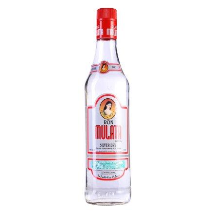 40°古巴混血姑娘银(白)朗姆酒700ml