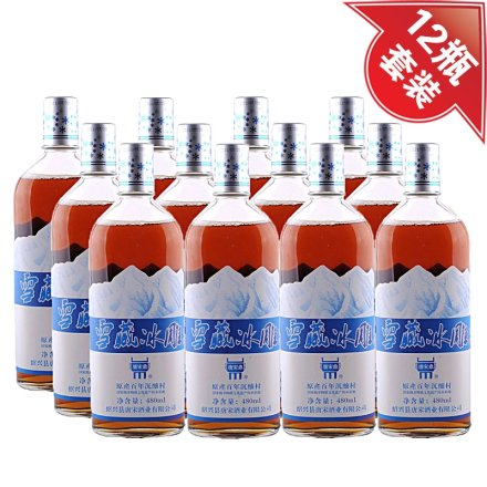 9°唐宋鼎雪藏冰雕480ml(12瓶装)