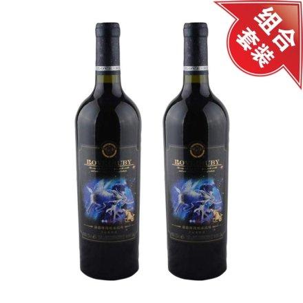 澜爵摩羯座+摩羯座赤霞珠干红葡萄酒