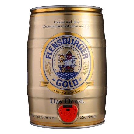 德国弗伦斯堡金啤酒5L