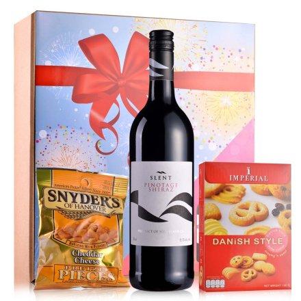 【清仓】南非斯兰特皮诺塔吉西拉干红葡萄酒750ml