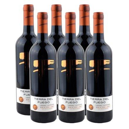 智利火地岛经典赤霞珠红葡萄酒(6瓶装)