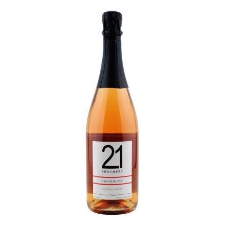 【清仓】澳大利亚21兄弟莫斯卡托甜型桃红起泡葡萄酒