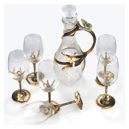 珐琅彩酒具器皿 香颂七件套