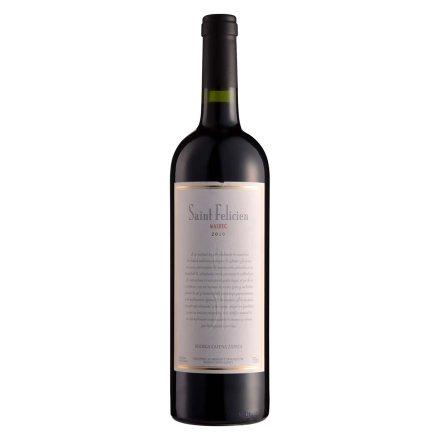阿根廷圣菲利希安·马贝克干红葡萄酒750ml