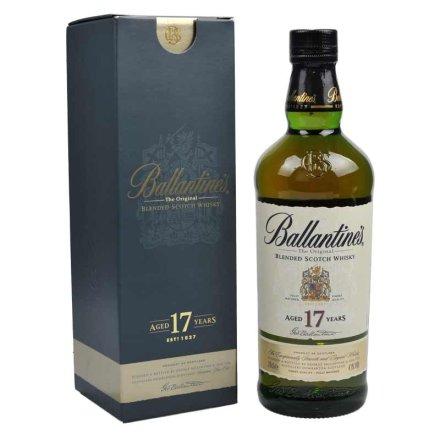 (清仓)43°英国百龄坛17年苏格兰威士忌700ml