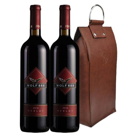 澳洲禾富888美乐干红葡萄酒双支皮袋装