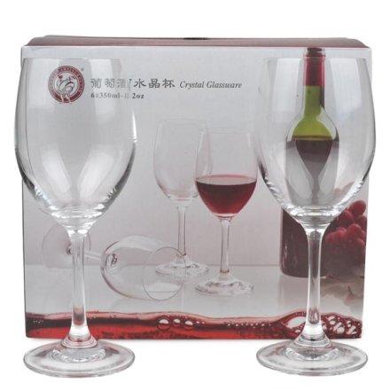 无铅水晶杯350ml(六个装)