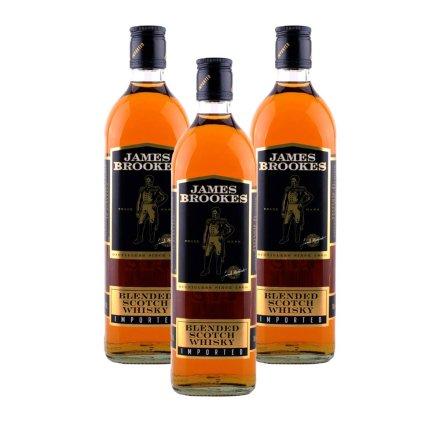 英国杰姆斯布鲁克斯调配苏格兰威士忌(3瓶装)