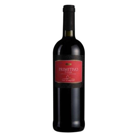 【清仓】意大利泰蒂普里米蒂沃干红葡萄酒