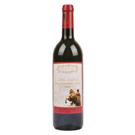 (清仓)法国小将士红葡萄酒
