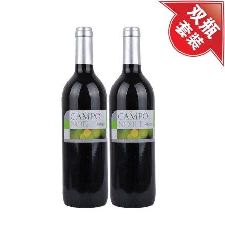 西班牙贵族田园干红葡萄酒(双瓶装)