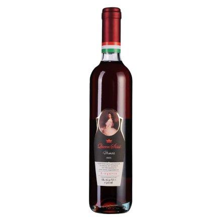 【清仓】匈牙利茜茜王后甜红葡萄酒500ml
