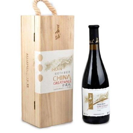 (清仓)中国长城海岸金色庄园高级干红葡萄酒