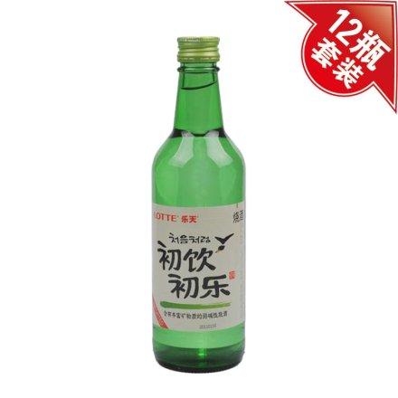 (清仓)19.5°韩国初饮初乐烧酒360ml(12瓶装)