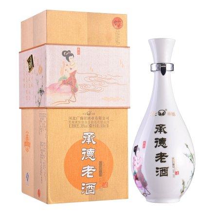 38°承德老酒·梅兰竹菊(白瓷系列)450ml