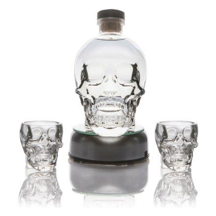 水晶头骨伏特加+酒杯(双支)+底座(套装错误勿用)
