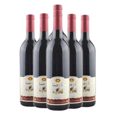 德国施密特世家杰格红红葡萄酒(6瓶装)