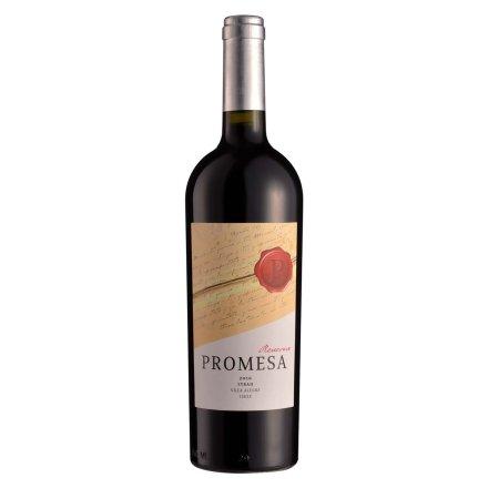 智利普罗米萨窖藏西拉子干红葡萄酒750ml