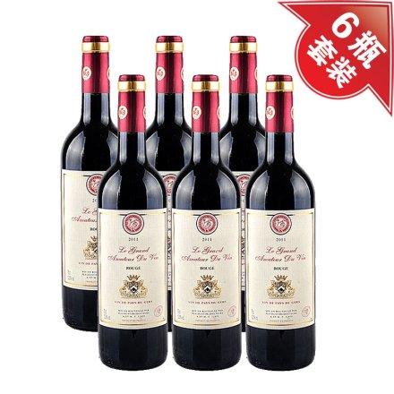法国酒星干红葡萄酒(6瓶装)送酒刀