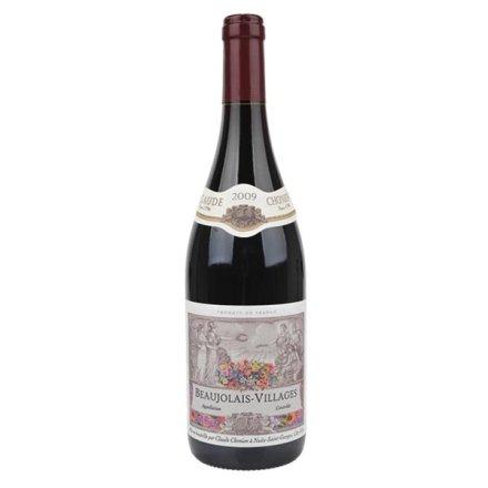 法国哥德利安宝祖利村红葡萄酒