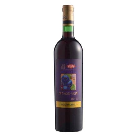 红姑娘野生蓝莓酒750ml